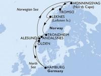 11 Noches por Alemania, Noruega a bordo del MSC Orchestra