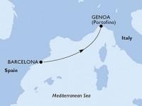 1 Noche por España, Italia a bordo del MSC Magnifica