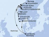 11 Noches por Alemania, Noruega a bordo del MSC Preziosa